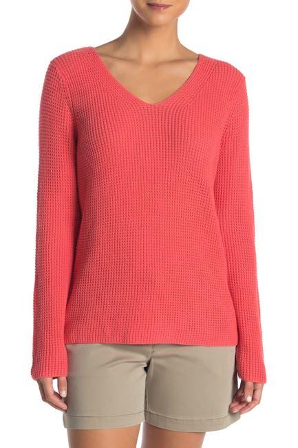 Image of Tommy Bahama Cubana V-Neck Pullover Sweater