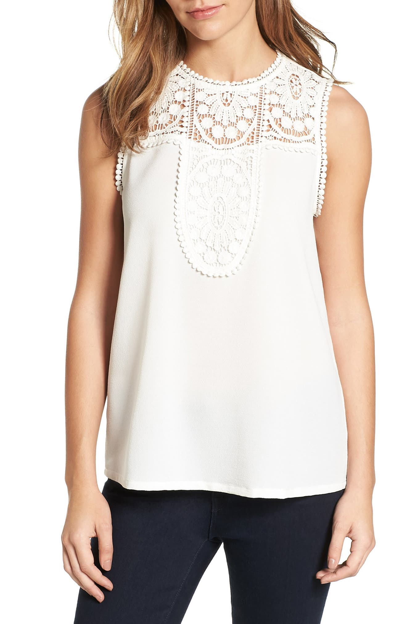 Women's Embroidered Detail Top
