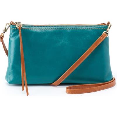 Hobo Darcy Crossbody Bag - Blue/green