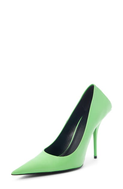 Balenciaga Pumps SQUARE KNIFE POINTED TOE PUMP