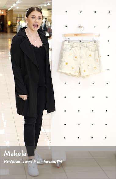 Daisy Duke Embroidered Denim Shorts, sales video thumbnail