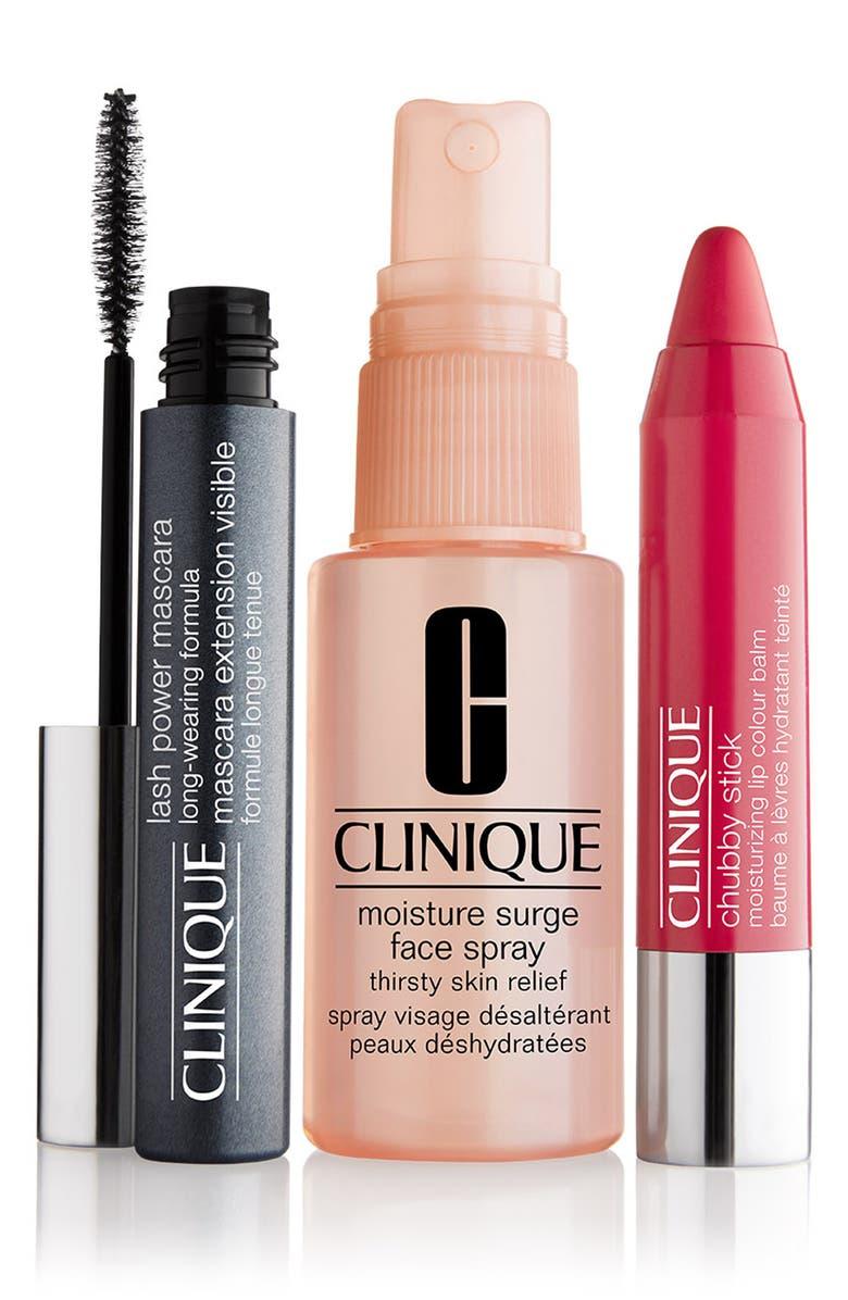 CLINIQUE Beach Bag Beauty Kit, Main, color, 000