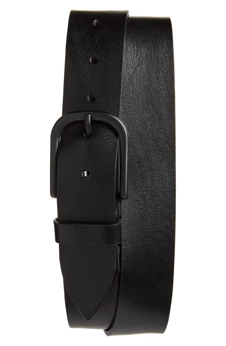1901 Cameron Leather Belt, Main, color, 001