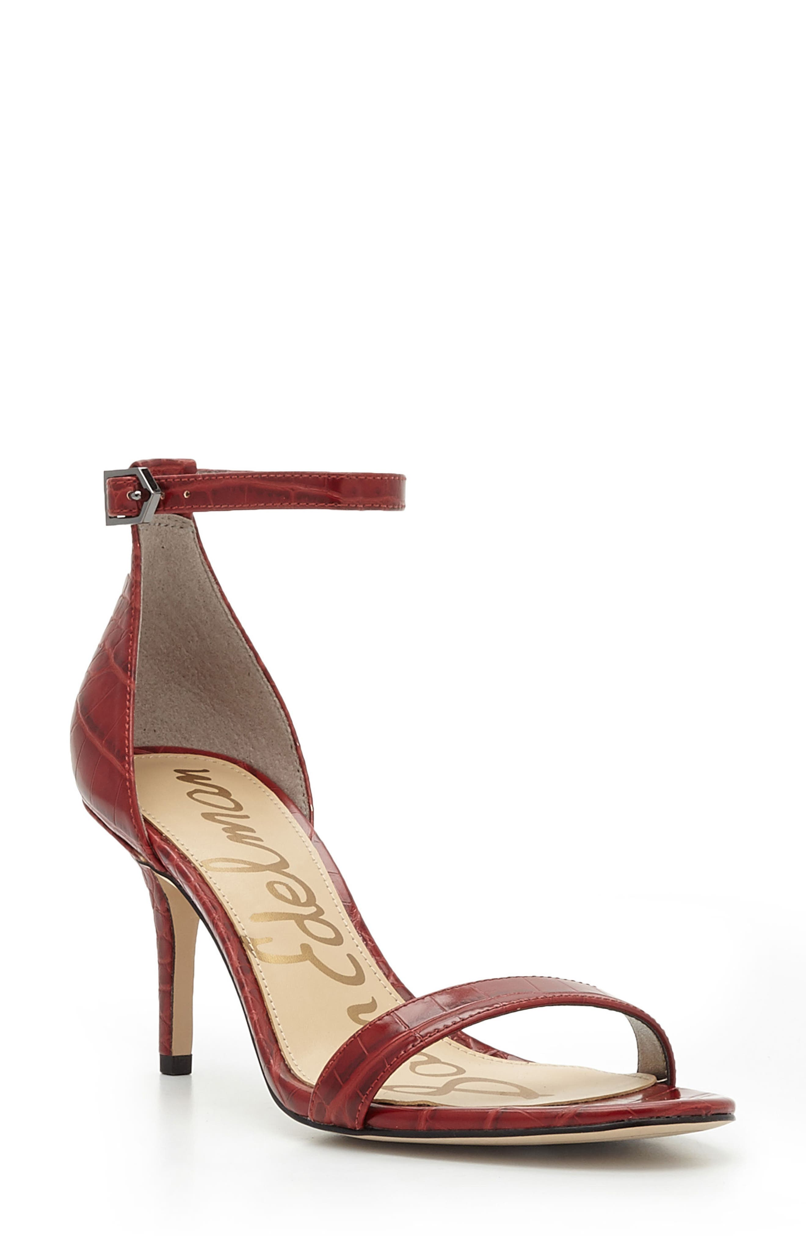 ,                             'Patti' Ankle Strap Sandal,                             Main thumbnail 108, color,                             602