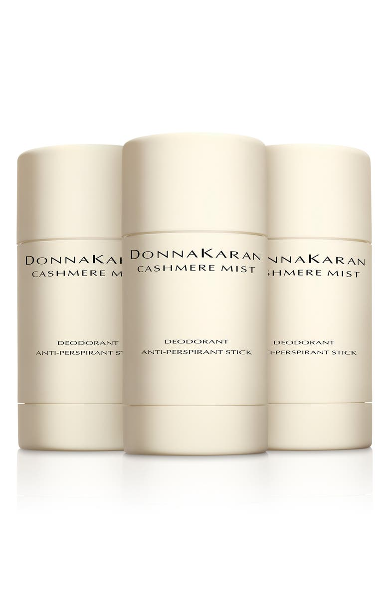 DONNA KARAN NEW YORK Donna Karan Cashmere Mist Deodorant Anti-Perspirant Stick Trio, Main, color, 000