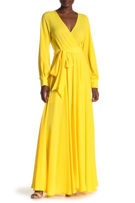 Image of Meghan LA Lilypad Solid Maxi Dress