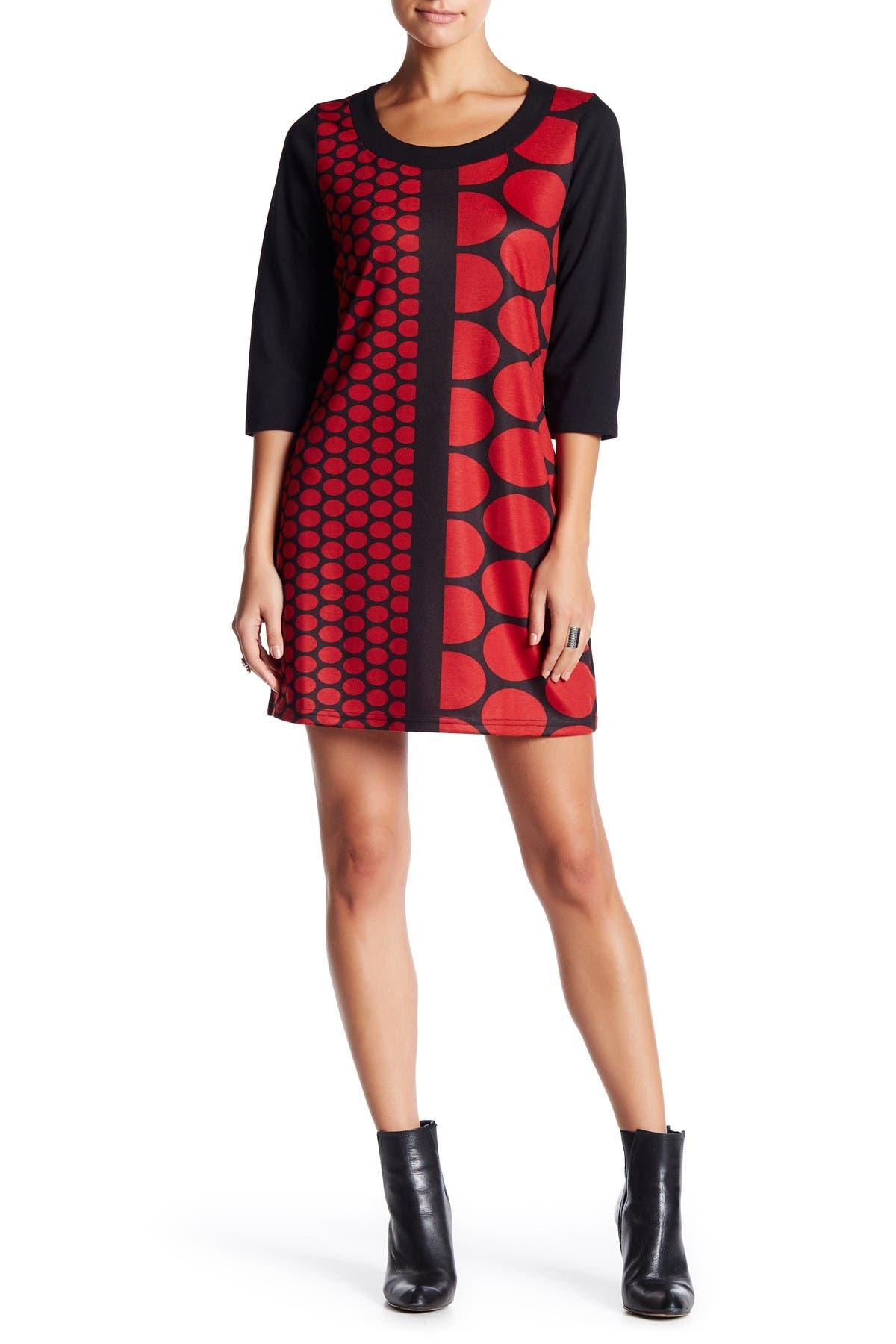 Image of Papillon Geo Print Dress