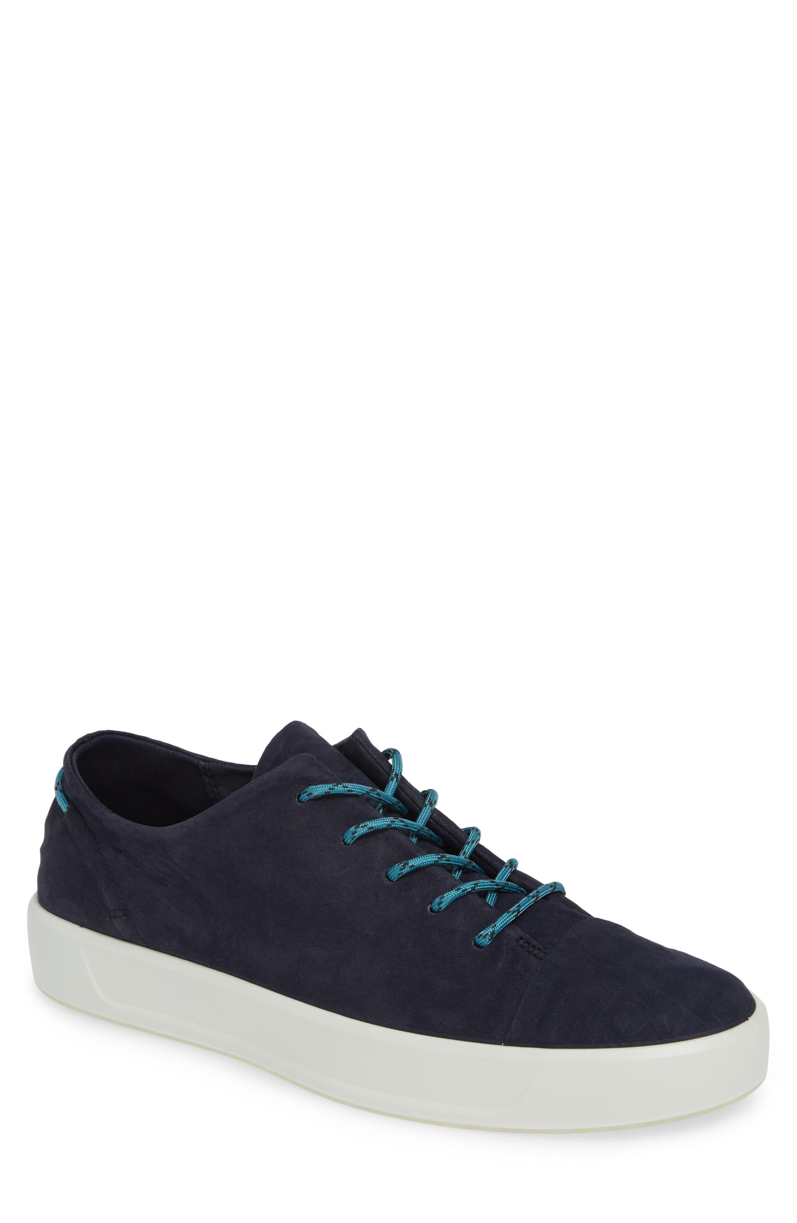 Ecco Soft 8 Dyneema Sneaker - Blue