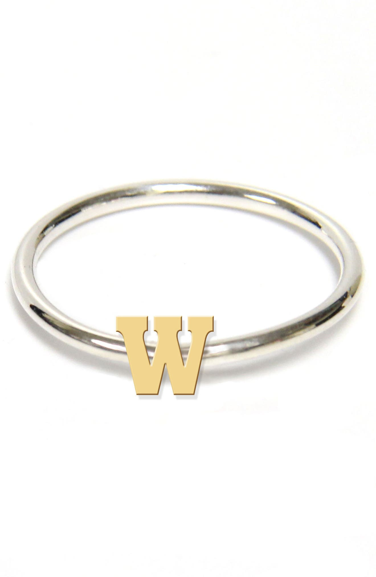 Two-Tone Initial Ring