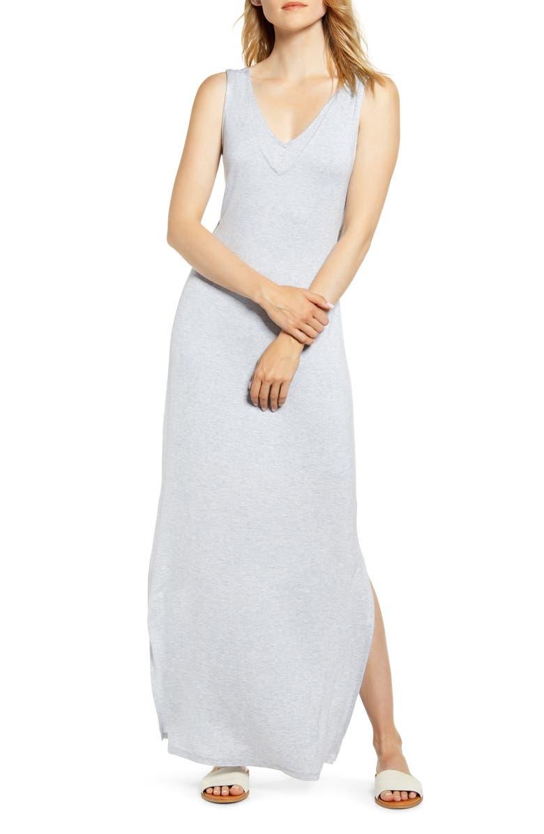 ab15f02121984 Bobeau Ansel Tie Back Jersey Maxi Dress | Nordstrom
