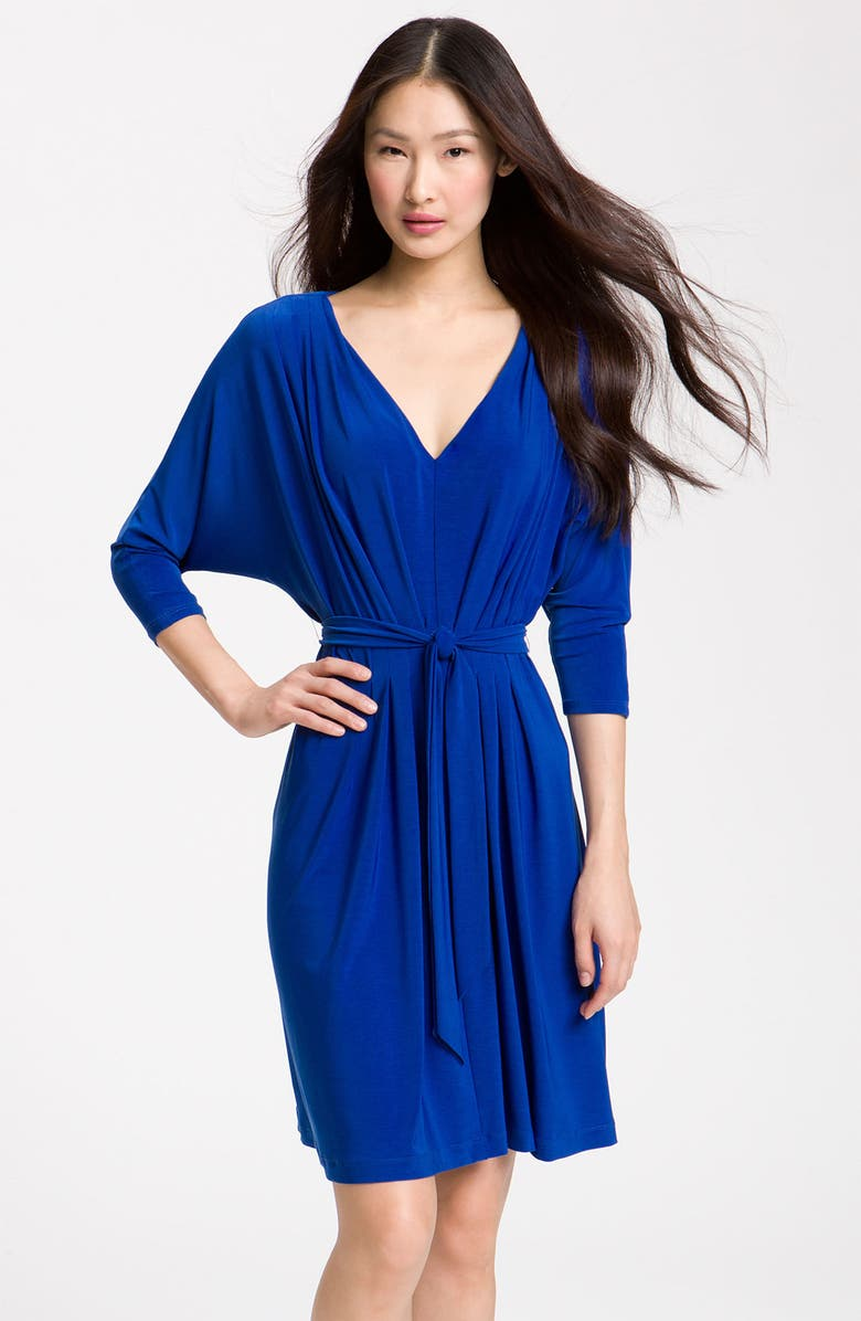 ALEX & AVA Dolman Sleeve Jersey Dress, Main, color, 400