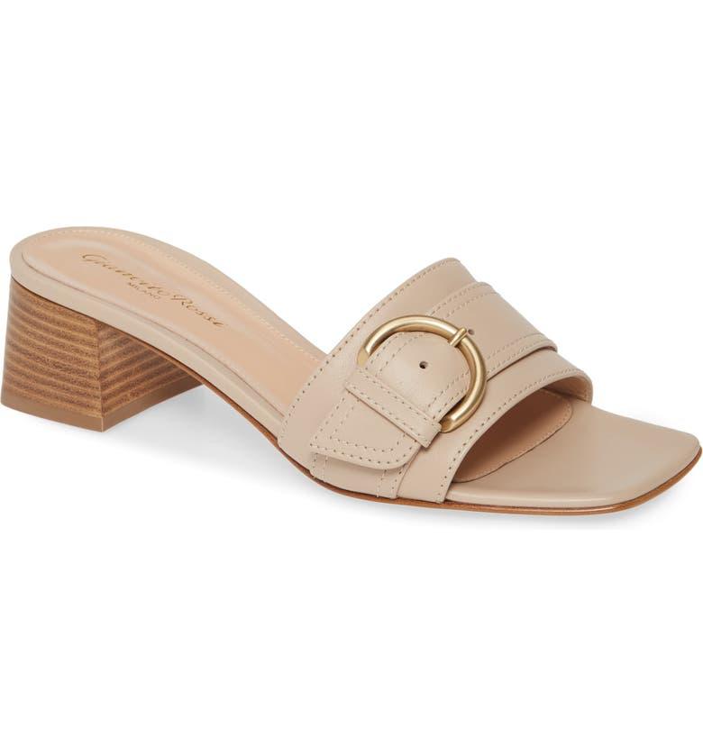 GIANVITO ROSSI Buckle Slide Sandal, Main, color, MOUSSE