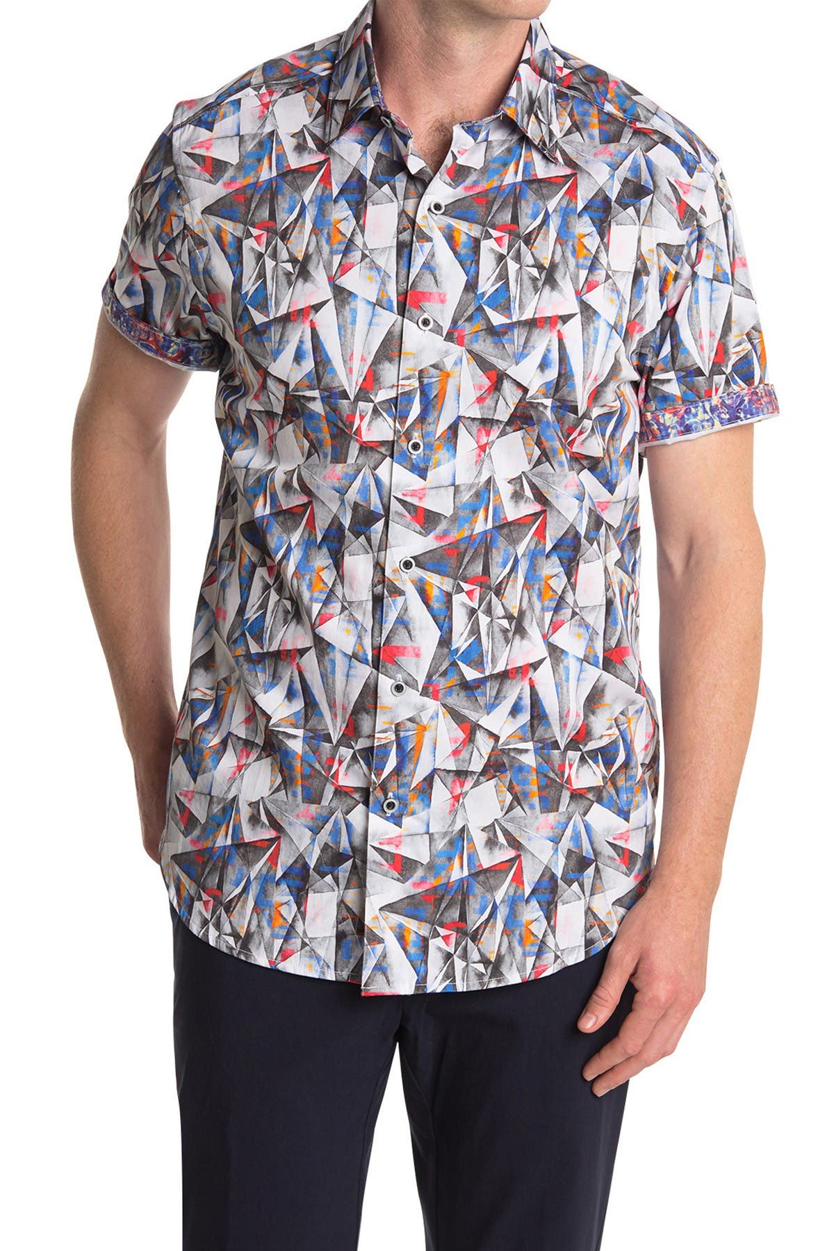 Image of Robert Graham Hollick Short Sleeve Shirt