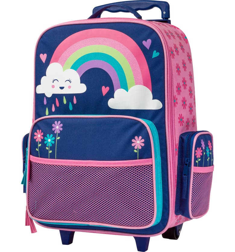 STEPHEN JOSEPH 18-Inch Rolling Suitcase, Main, color, RAINBOW