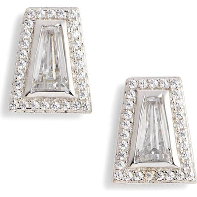 Lafonn Bezel Stud Earrings