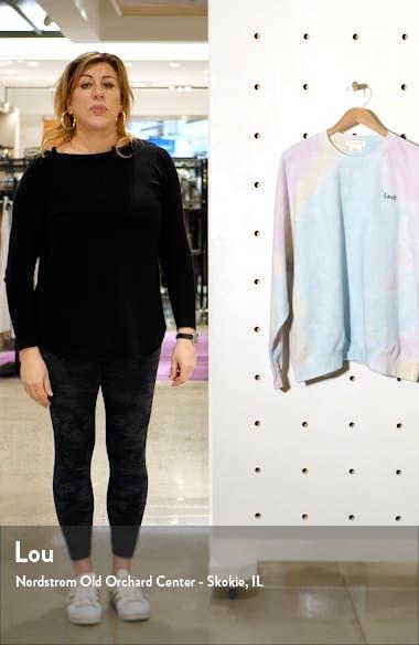 Tie Dye Love Sweatshirt, sales video thumbnail