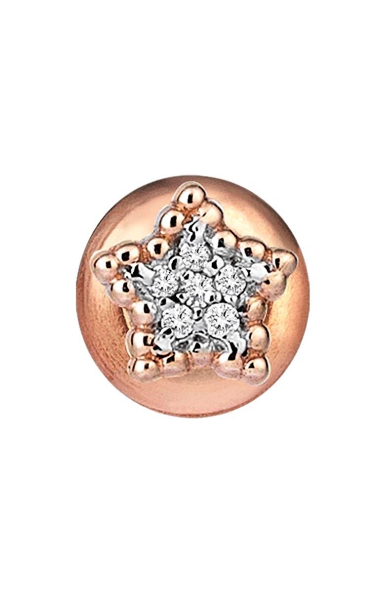 KISMET BY MILKA Diamond Stud Earring, Main, color, 712