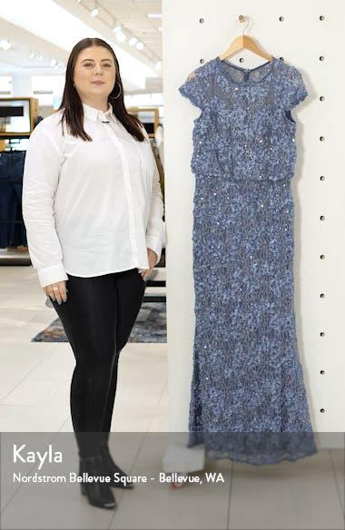 Blouson Lace Gown, sales video thumbnail