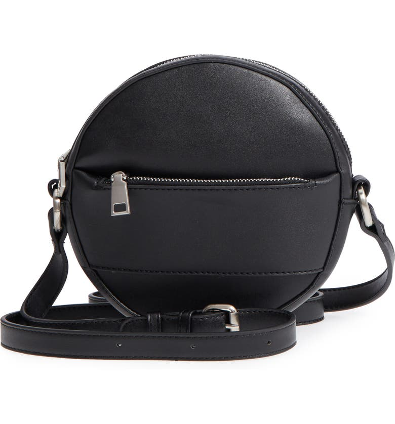 BP. Faux Leather Canteen Crossbody Bag, Main, color, 001