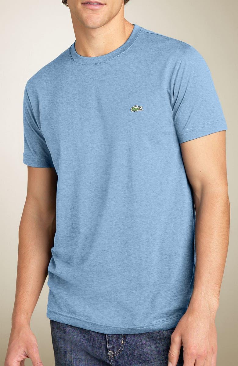 LACOSTE Pima Cotton Crewneck T-Shirt, Main, color, 426