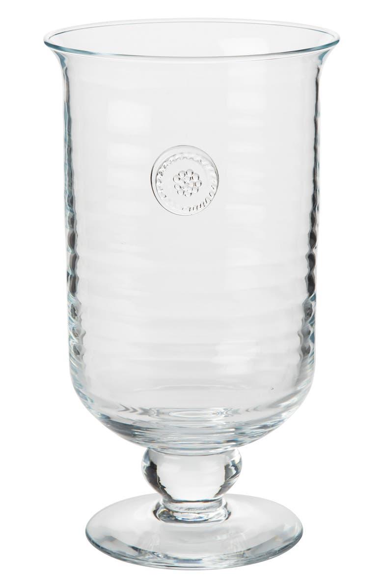 JULISKA Berry & Thread Medium Hurricane Candleholder, Main, color, CLEAR
