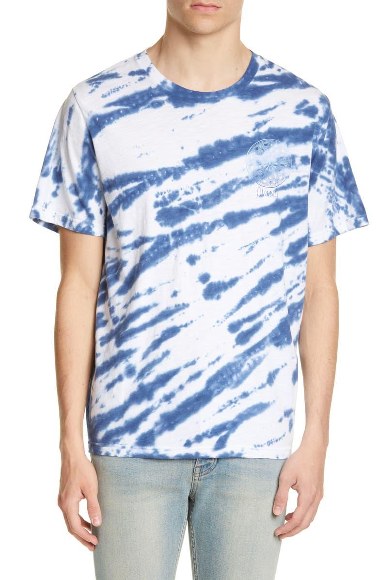 OVADIA & SONS Tie Dye Logo Graphic T-Shirt, Main, color, TIE DYE