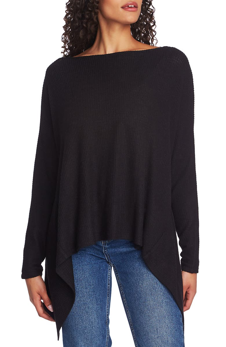 1.STATE Knot Back Waffle Knit Top, Main, color, 006