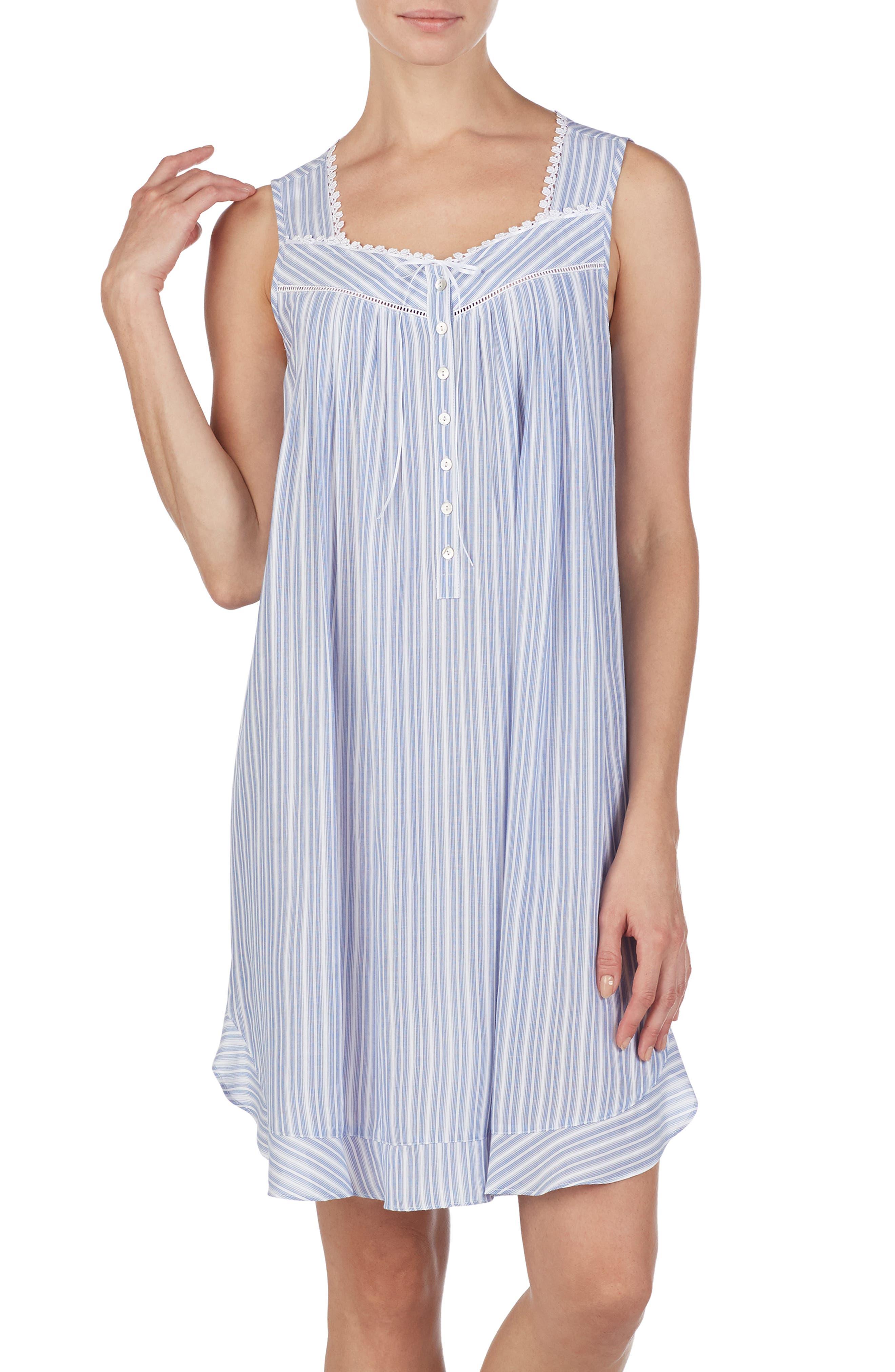 Eileen West Short Nightgown, White