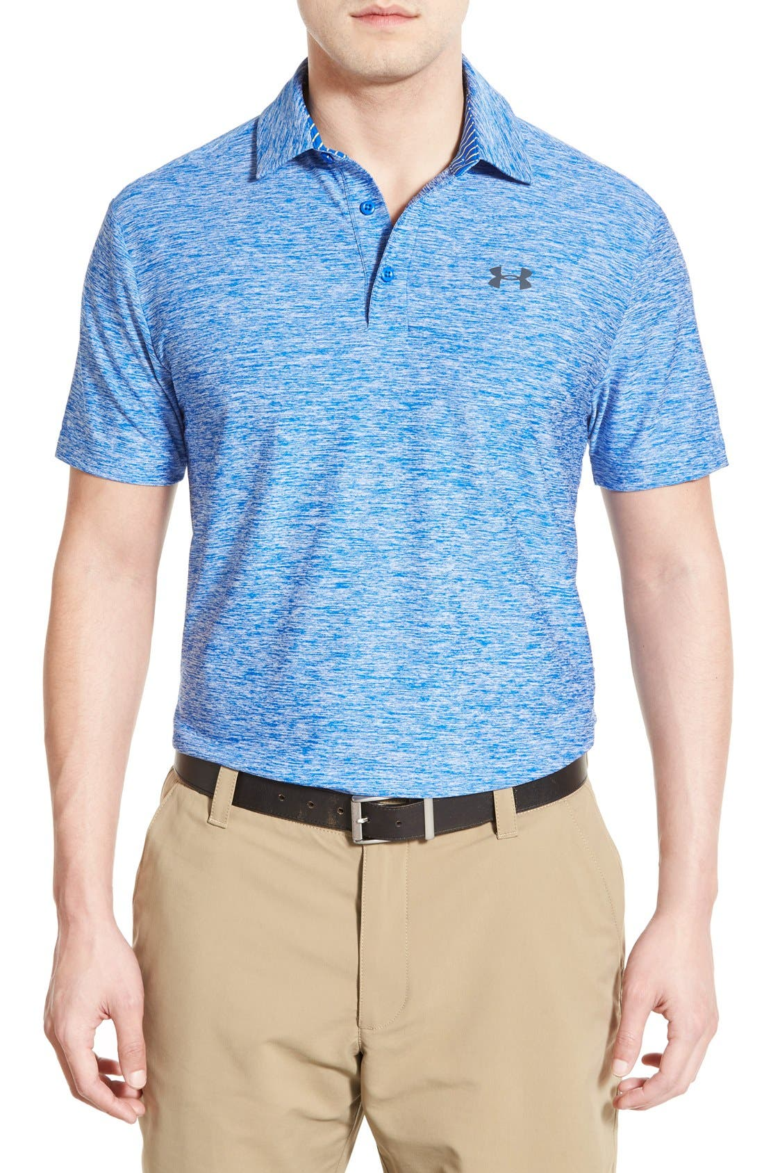 ,                             'Playoff' Loose Fit Short Sleeve Polo,                             Main thumbnail 217, color,                             408