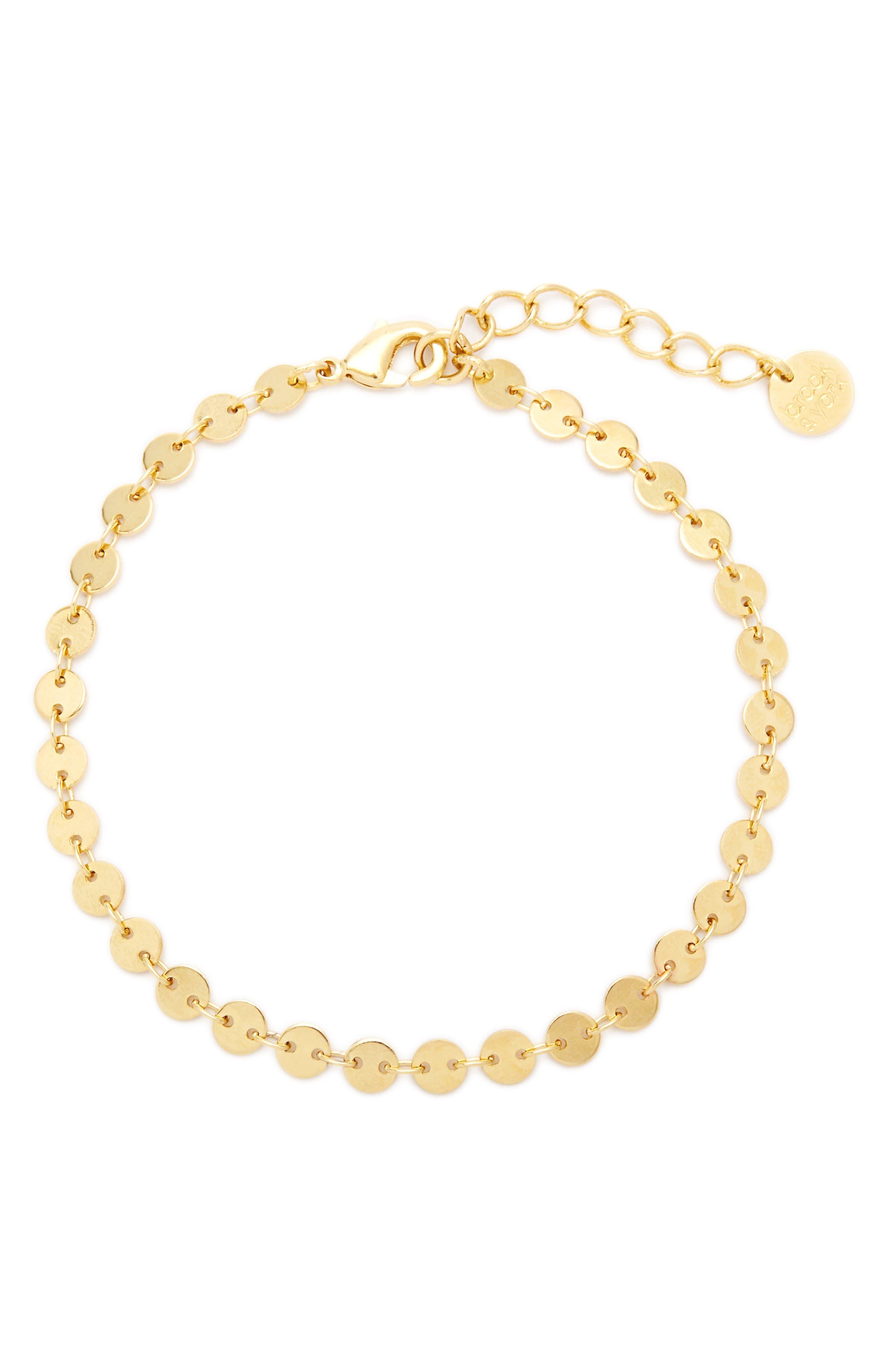 Sequin Chain Bracelet