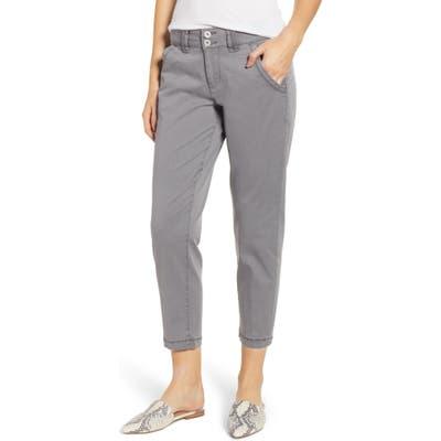 Petite Jag Jeans Flora Crop Pants, Grey