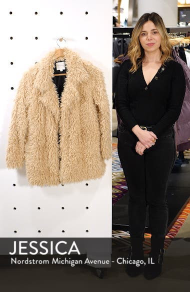 Sully Faux Shearling Jacket, sales video thumbnail