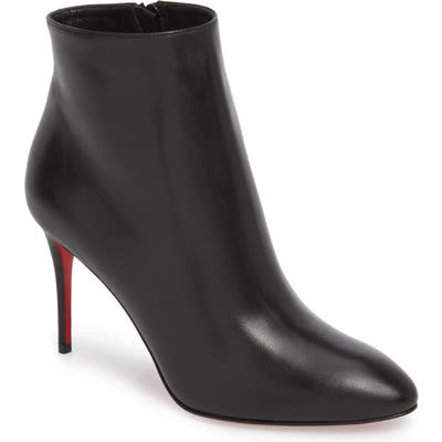 Christian Louboutin Eloise Pointy Toe Bootie - Black