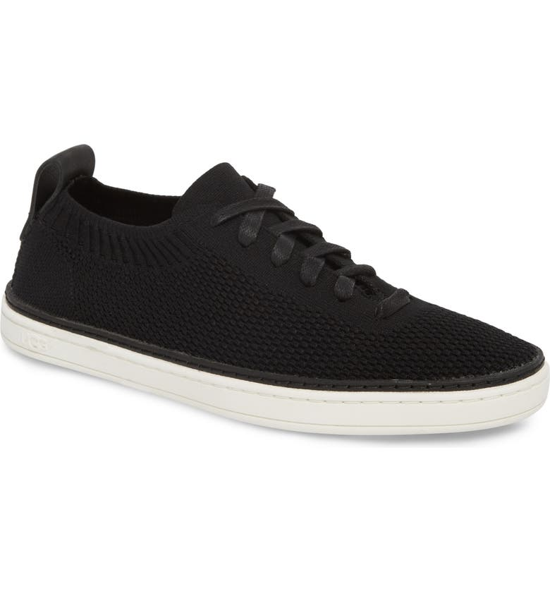 UGG<SUP>®</SUP> Sidney Sneaker, Main, color, BLACK FABRIC