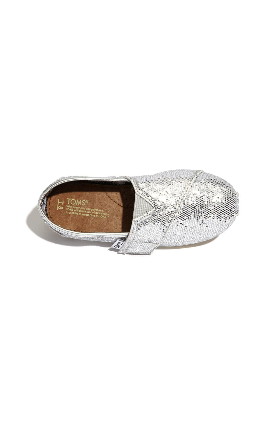 ,                             'Classic Tiny - Glitter' Slip-On,                             Alternate thumbnail 8, color,                             040