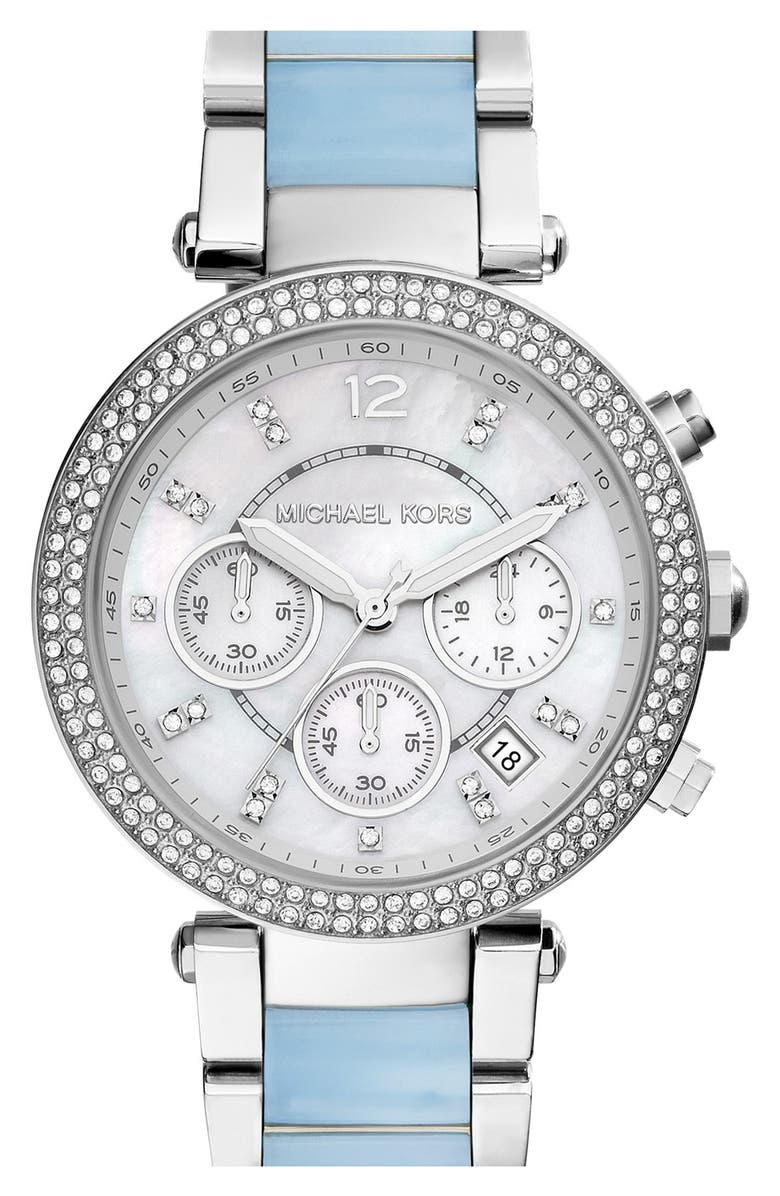 MICHAEL KORS 'Parker' Chronograph Watch, 39mm, Main, color, 042