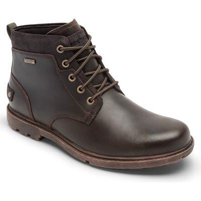 Rockport Rugged Bucks Ii Waterproof Plain Toe Boot W - Brown