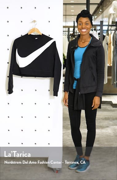 Sportswear Swoosh Cropped Crewneck Sweatshirt, sales video thumbnail