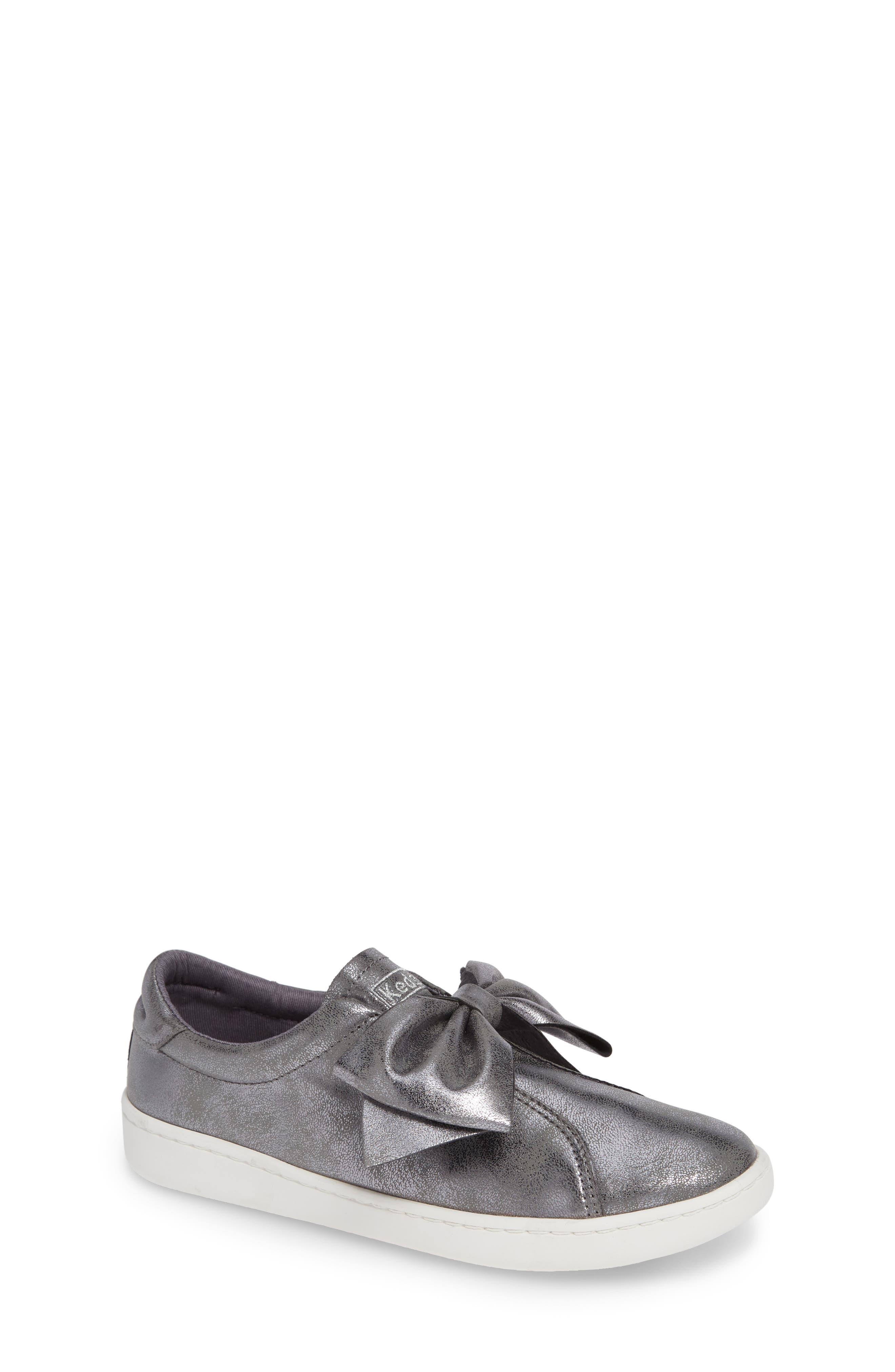 Keds® Ace Bow Slip-On Sneaker (Baby