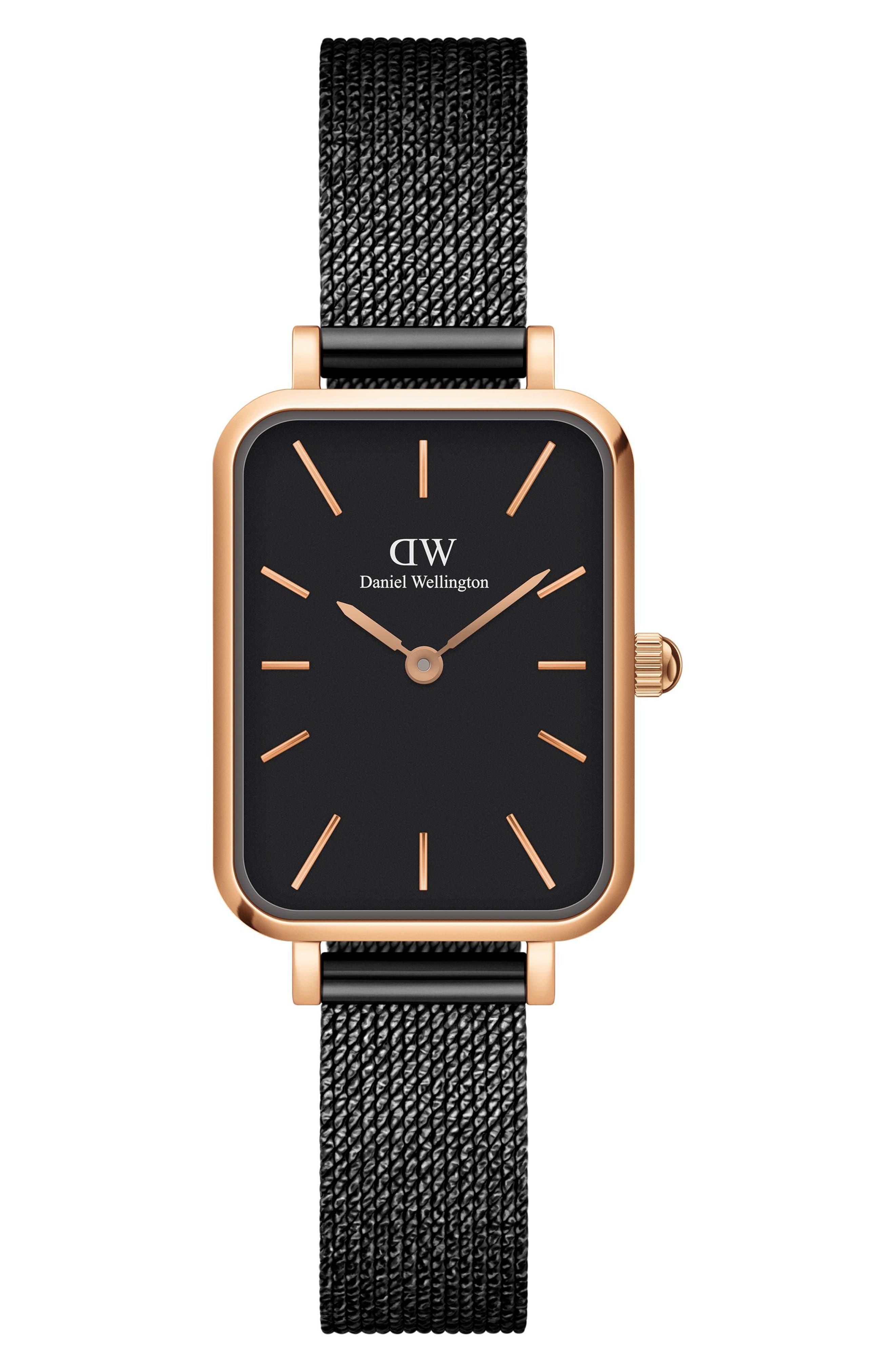 Quadro Ashfield Mesh Strap Watch