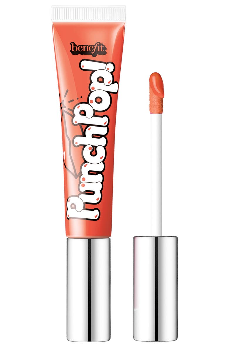 BENEFIT COSMETICS Benefit Punch Pop! Liquid Lip Color, Main, color, MANGO