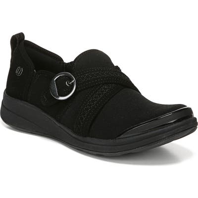 Bzees Indigo Slip-On Sneaker, Black