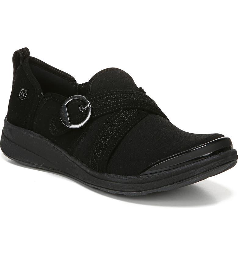 BZees Indigo Slip On Sneaker Women