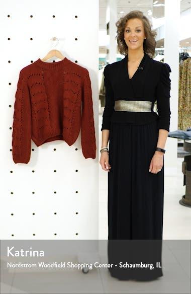Pointelle Sweater, sales video thumbnail