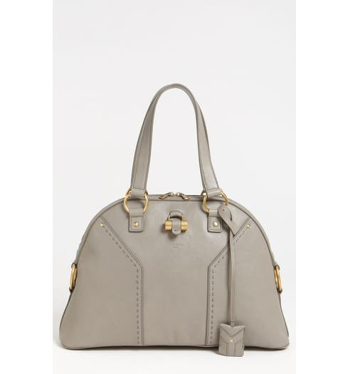 2b629f94a69 Yves Saint Laurent 'Muse - Large' Leather Dome Satchel | Nordstrom