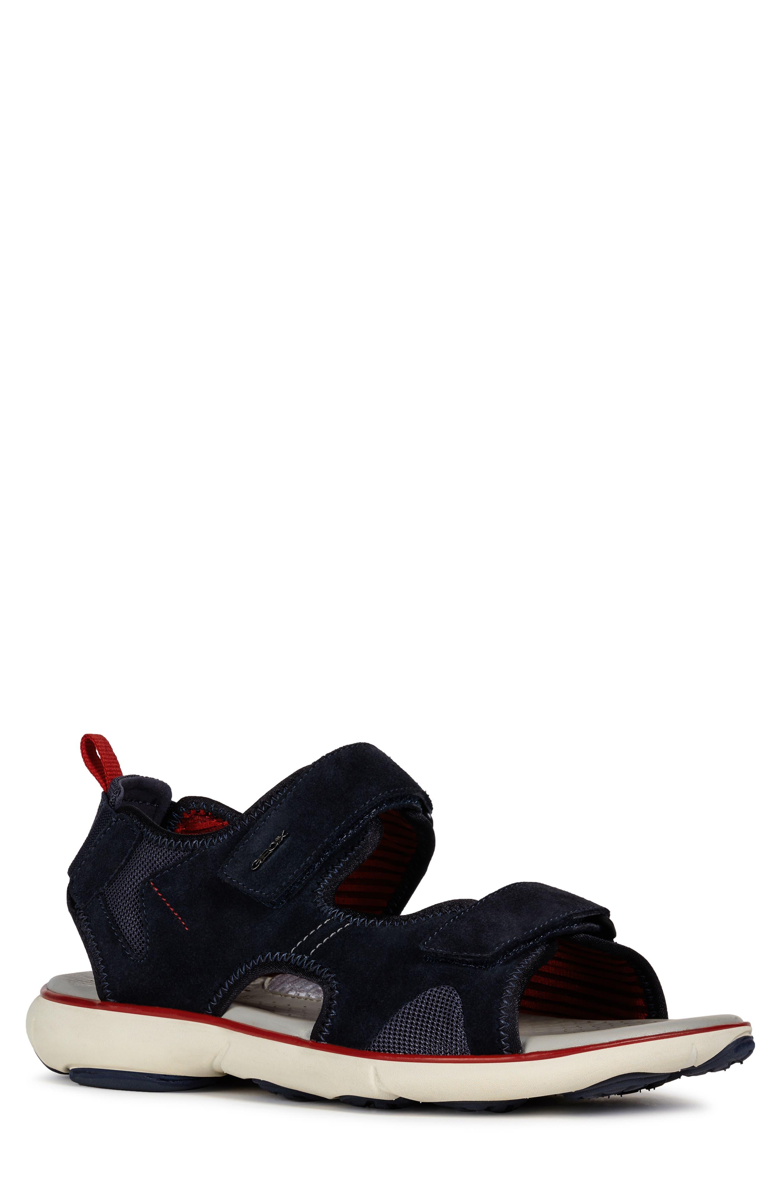 Geox Nebula L1 Sandal, Blue