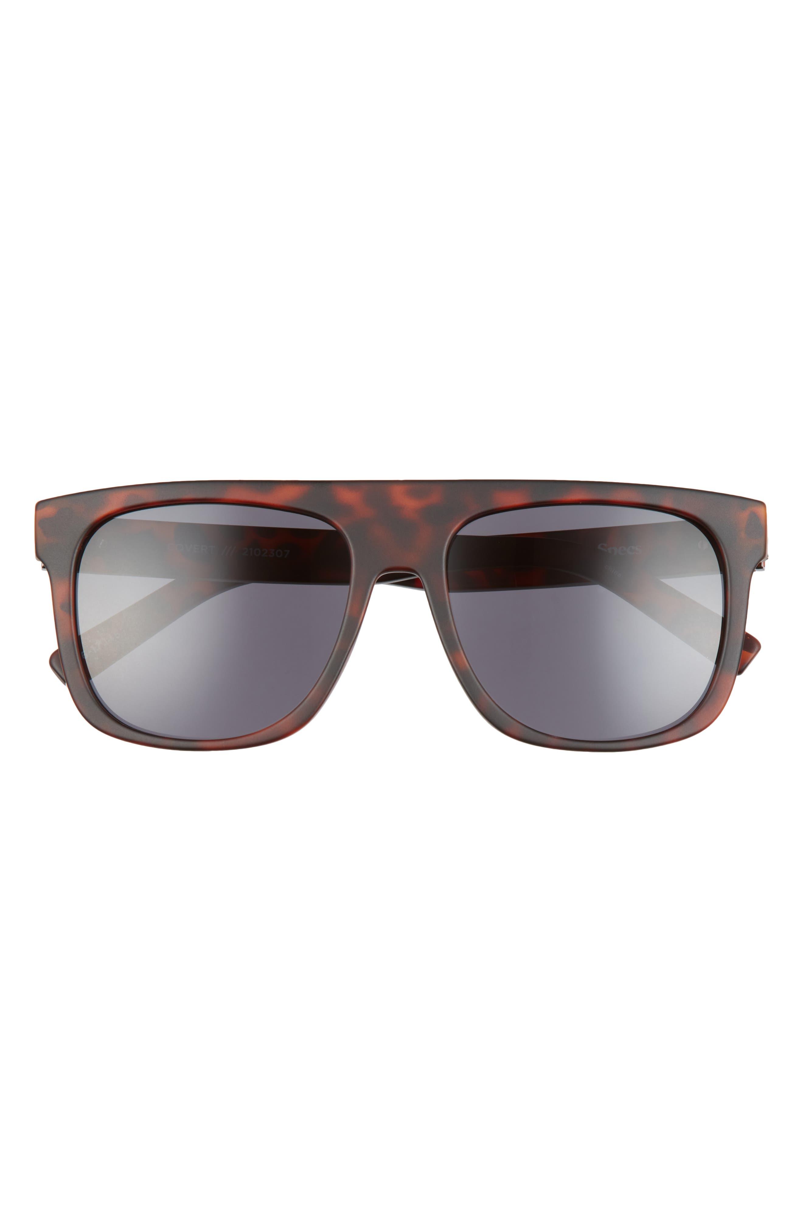 Covert Modern 56mm Polarized Flat Top Sunglasses