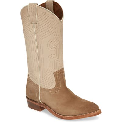 Frye Billy Western Boot- Ivory