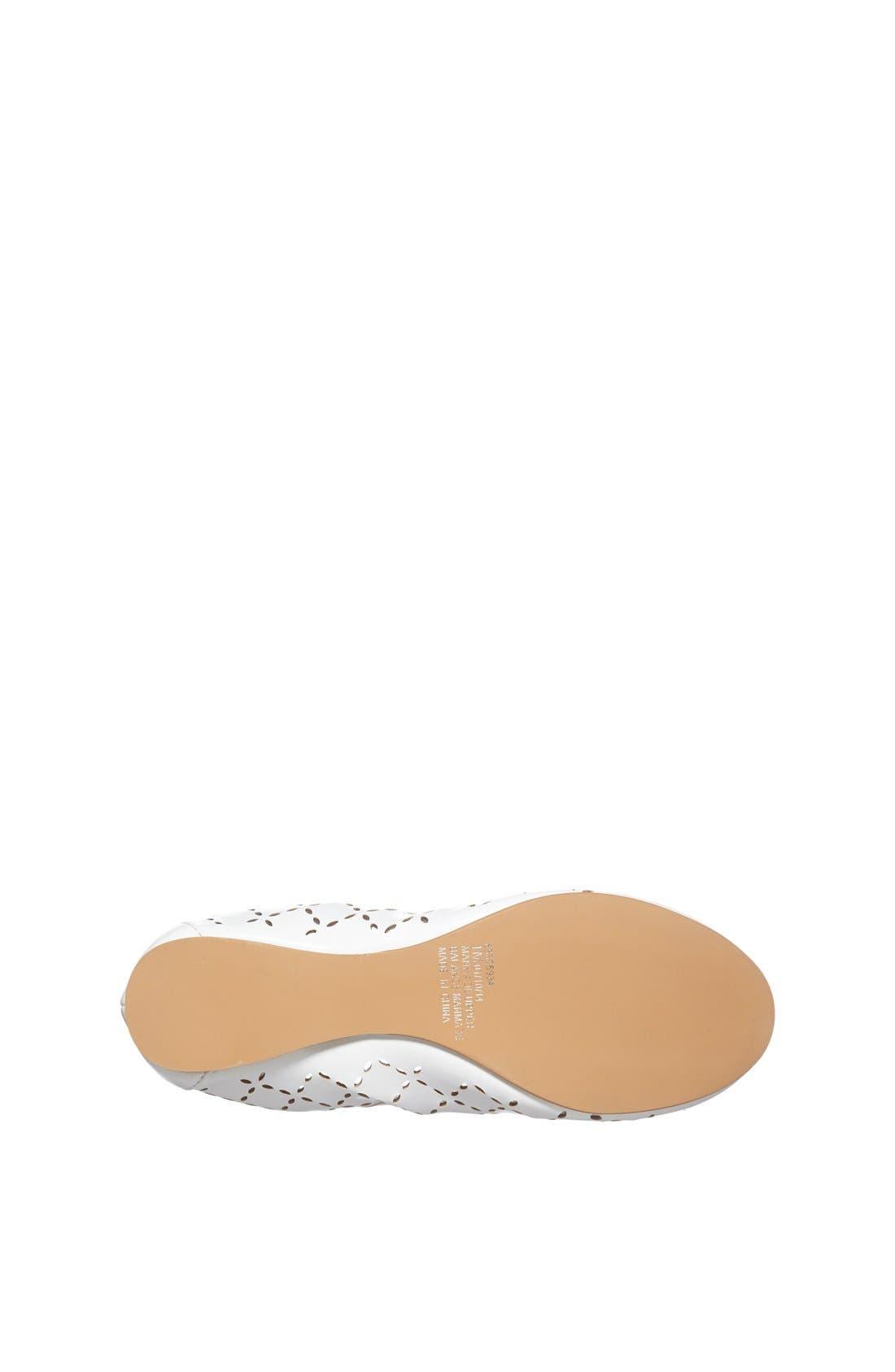 ,                             'Joslin' Cutout Ballet Flat,                             Alternate thumbnail 2, color,                             100