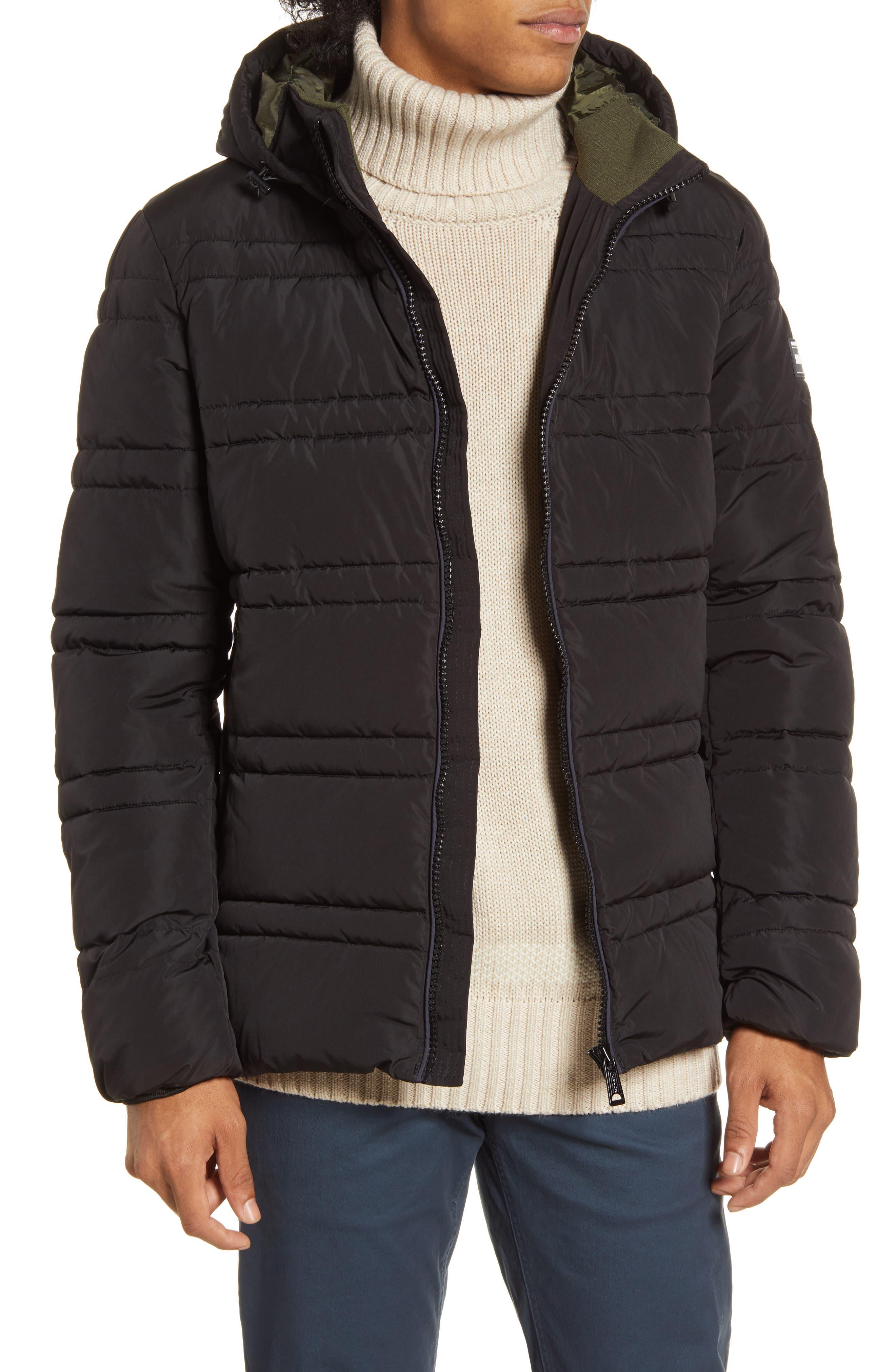 Image of Scotch & Soda Classic Hooded PrimaLoft Jacket
